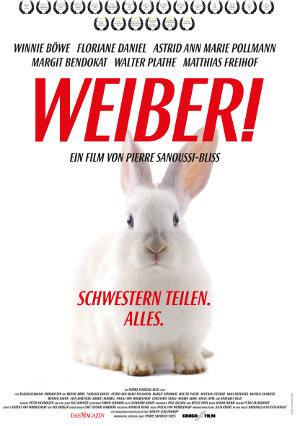 Weiber - Poster   deutsche Komödie über drei Schwestern und ihre Mutter