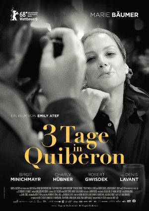 3 Tage in Quiberon - Poster | Biopic über Romy Schneider