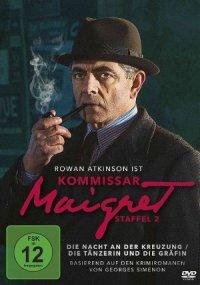 Komissar Maigret - Staffel 2 - DVD-Cover | Krimi mit Rowan Atkinson