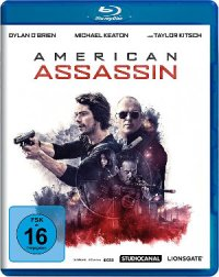 American Assassin - Blu-Ray-Cover | Actionfilm