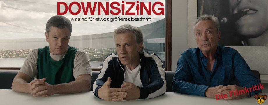 Downsizing - Review | Eine Komödie mit Matt Damon und Christoph Waltz