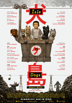 Isle of Dogs - Poster | Animationsfilm von Wes Anderson