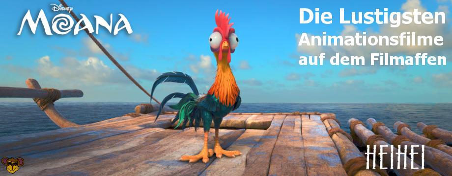 Die lustigen Animationsfilme auf dem Filmaffen