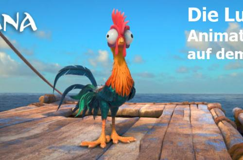 Lustige Animationsfilme auf dem Filmaffen - Disneys Moana