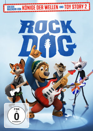 Rock Dog - DVD-Cover | Animationsfilm