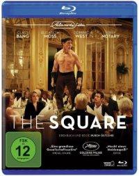 The Square - Blu-Ray-Cover | Satire von Ruben Östlund