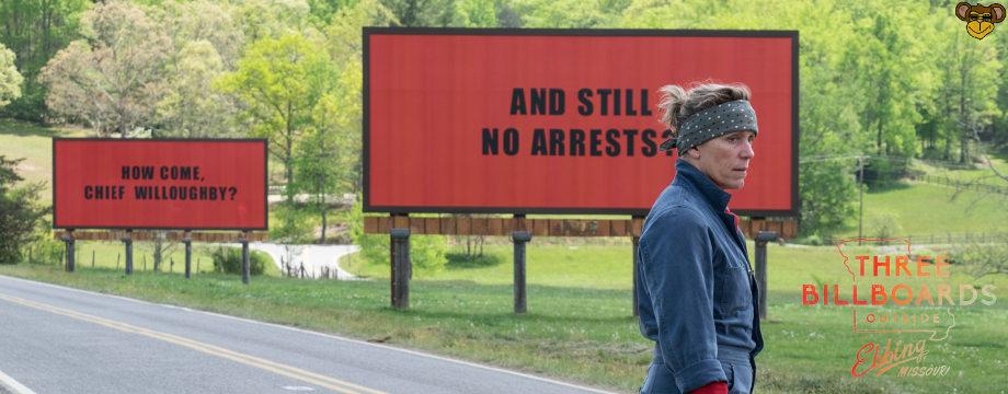 Three Bllboards outside ebbing missouri - Review | Filmkritik zur Oscar-nominierten Tragikomödie