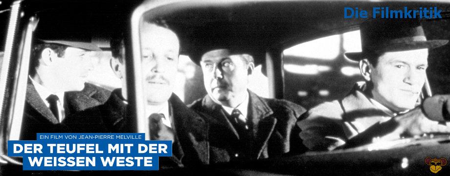 Der Teufel mit der weissen Weste - Filmkritik | Französischer Film Noir