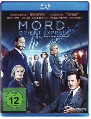 Mord im Orient Express - Blu-Ray-Cover | Im Handel erhältlich