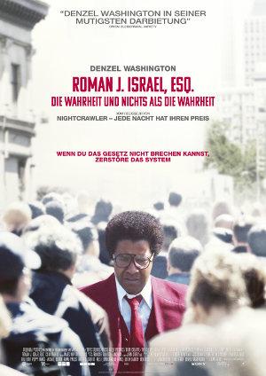 Roman J. Israel ESQ - Poster | Drama mit Denzel Washington