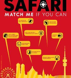 Safari - Match me if you can - Poster | Komödie
