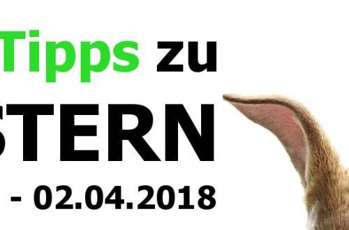 TV-Tipps zu Ostern 2018 - Titelbild | 30. März bis 02. April 2018