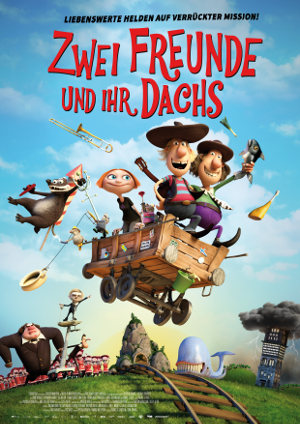 Zwei Freunde und ihr Dachs - Poster | Animationsfilm