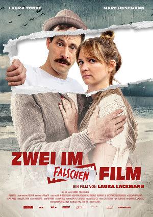 Zwei im falschen Film - Poster | Komödie über Pärchen in Krise