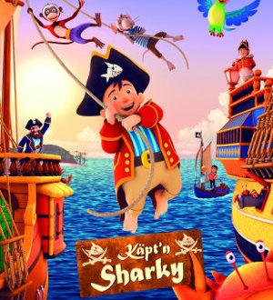 Kaeptn Sharky - Poster | Animationfilms, Piratenfilm