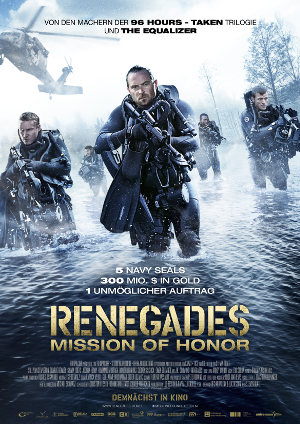 Renegades - Mission of Honor - Poster | Action, Abenteuerfilm