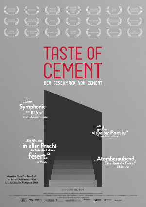 Taste of Cement - Poster | Dokumentarfilm
