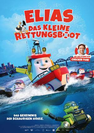 Elias das kleine Rettungsboot - Poster   Animationsfilm