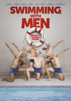 Swimming with men - Poster | Komödie