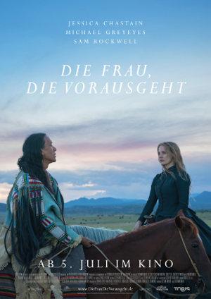 Die Frau die vorausschaut - Poster   Western, Drama