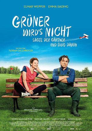 Gruener wirds nicht sagt der Gaertner und flog davon - Poster | deutsche Komödie