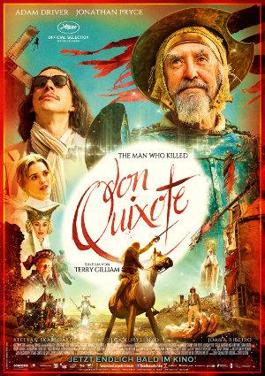 Who killed Don Quixote - Poster | Film von Terry Gilliam