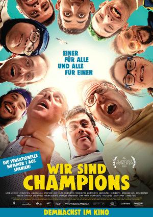 Wir sind Champions - Poster   Komödie