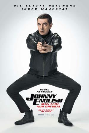 Johnny English - Man lebt nur dreimal - Poster   Komödie mit Rowan Atkinson