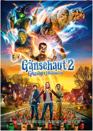 Gaensehaut 2 - Gruseliges Halloween - Poster   Horror, Kinderfilm