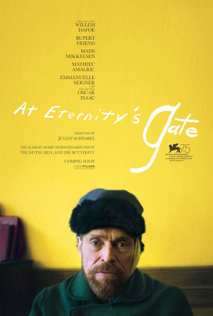 Willem Dafoe in AT ETERNITY'S GATE: Erster Trailer