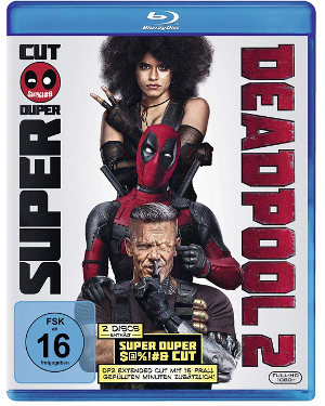 Deadpool 2 - Blu-Ray Cover - Der Super Duper Cut