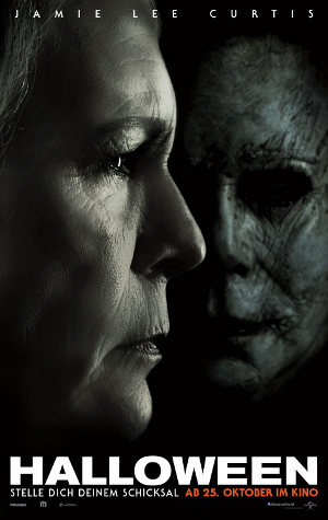 Halloween 2018 - Poster | Horror mit Jamie Lee Curtis