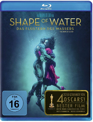 The Shape of Water - BD-Cover | Thriller, Fanatsy