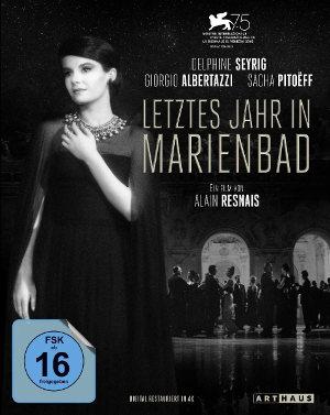 letztes Jahr in Marienbad - BD-Cover | Drama