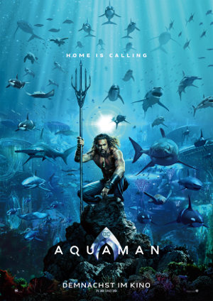 Aquaman - Poster | DC Action Movie