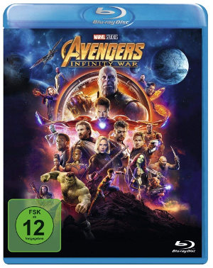 Avenegers Infinity War - BluRay-Cover | Review BluRay