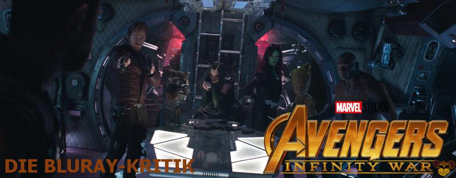 Avengers Infinity War - BluRay-Kritik | Guardians of the Galaxy meet Thor