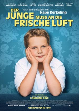 Der Junge muss an die frische Luft - Poster | Biopic Hape Kerkeling, Komödie