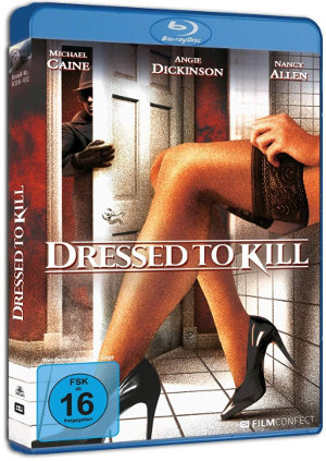 Dressed to Kill - BluRay-Cover | Thriller