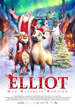 Elliot - Das Kleinste Rentier - Poster | Animationsfilm, Weihnachtsfilm