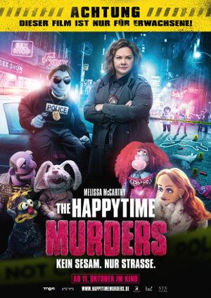 Happy Time Murders - Poster   Puppen-Schweinkram