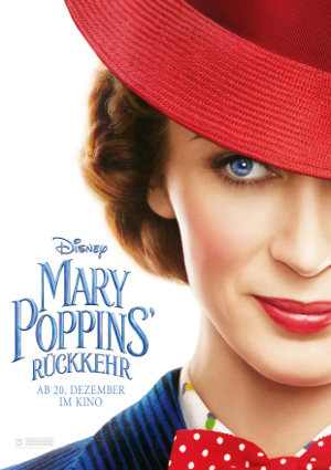 Mary Poppins Rückkehr - Poster | Fantasy Familienfilm