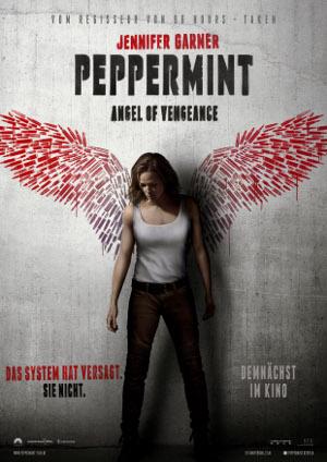 Peppermint - angele of vengeance - Poster   Action, Rachefilm