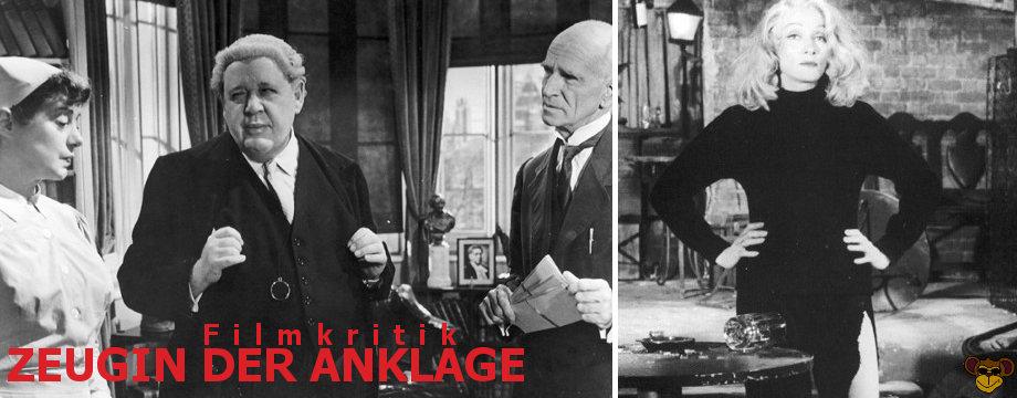 Zeugin der Anklage - Filmkritik   Billy Wilder
