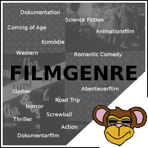 """Überblick aller Filmgenre auf dem Filmblog """"der Filmaffe"""""""