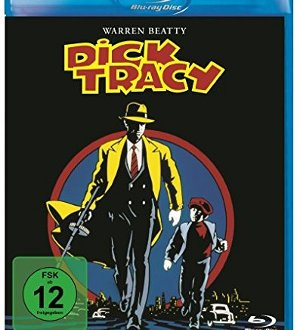 Dick Tracy - DVD-Cover | Comicverfilmung von Warren Beatty