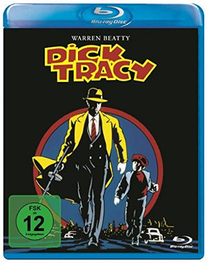 Dick Tracy - DVD-Cover | Comicverfilmung von Warren Beatty