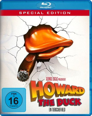 Howard the Duck - BluRay-Cover