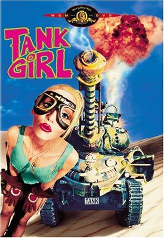 Tank Girl - DVD-Cover   Actionfilm