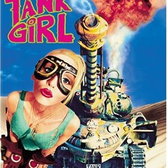 Tank Girl - DVD-Cover | Actionfilm